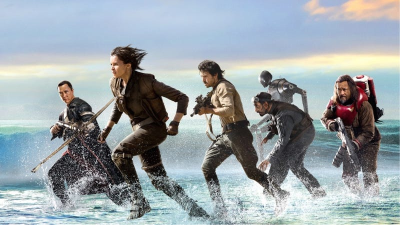 Illustration for article titled Jyn Erso Gives Pep Talk in New Rogue One TV Spot