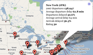 Illustration for article titled Check Your Airport's Delay Record Before You Travel