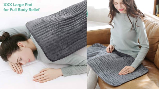 Banish Back Pain With This Massive $20 Heating Pad [Exclusive]
