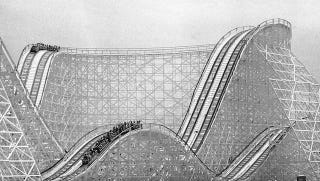 Illustration for article titled Another Broken-Down Roller Coaster Leaves People Stuck, Requiring Rescue