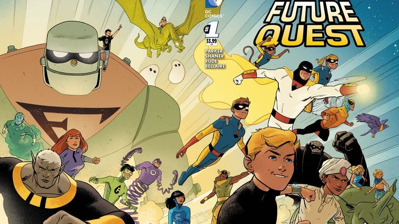 Illustration for article titled DC exclusive: Future Quest kicks off the ultimate Hanna-Barbera crossover