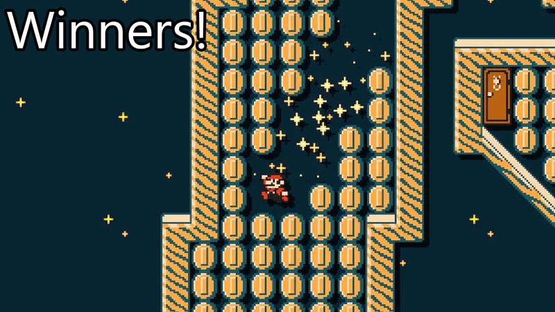Illustration for article titled Mario Maker Contest: Short And Sweet, Winners!