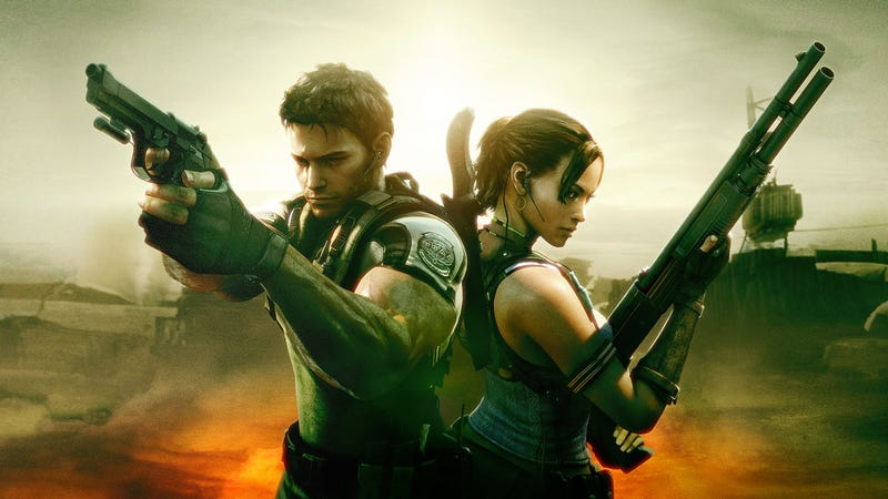 Illustration for article titled Resident Evil 5 Has Aged Kinda Poorly, Unless You Play With a Friend