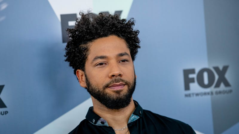 Jussie Smollett attends the 2018 Fox Network Upfront on May 14, 2018 in New York City.
