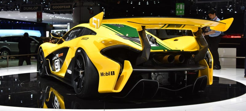Illustration for article titled The McLaren P1 GTR Makes The Beloved McLaren F1 Look Like A Dinosaur