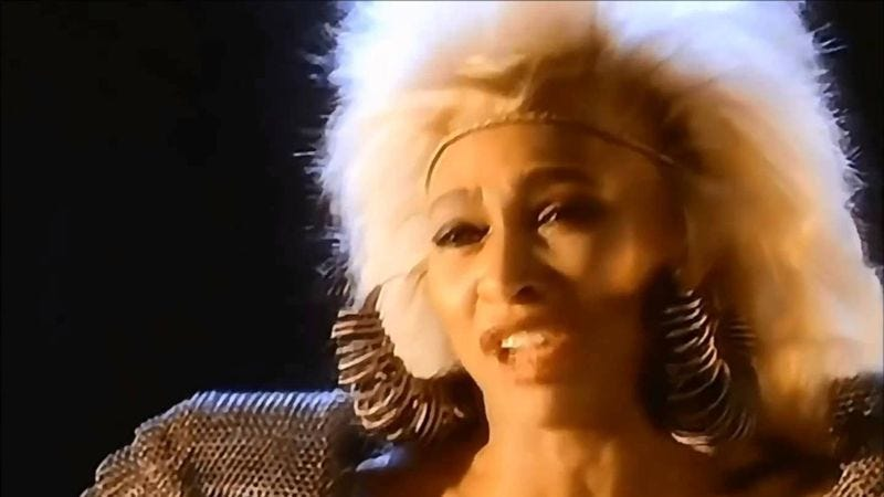 """Illustration for article titled Tina Turner went Beyond Thunderdome with """"We Don't Need Another Hero"""""""
