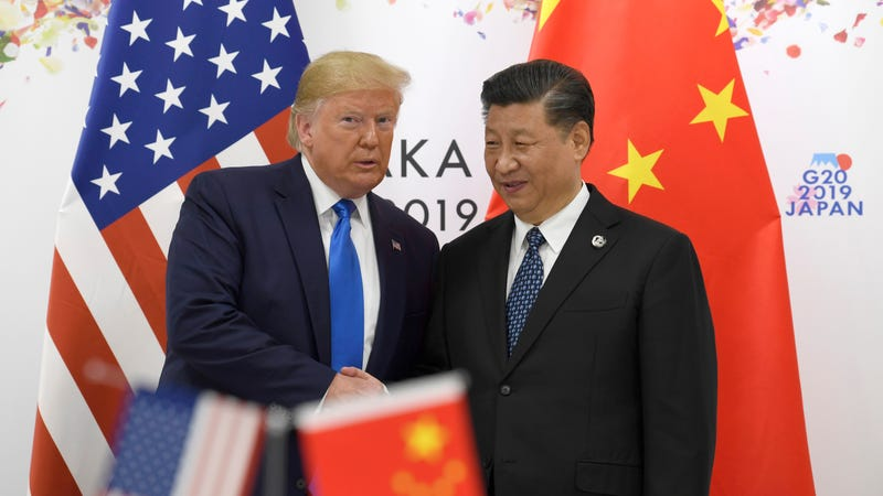 Illustration for article titled Trump Says He'll Relax Sanctions on Huawei as Part of Trade Talks With China