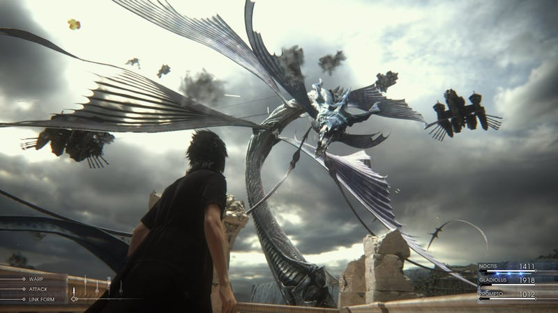 Illustration for article titled Final Fantasy XV will receive a World Wide Release