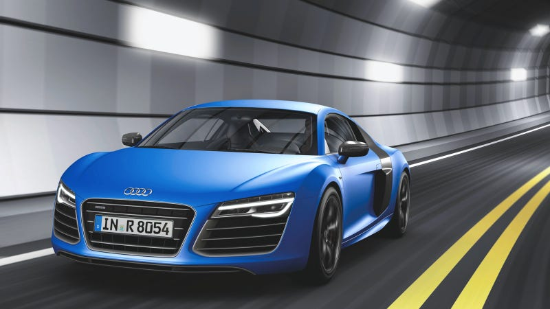 Illustration for article titled 2013 Audi R8: This Is It And It Is Beautiful