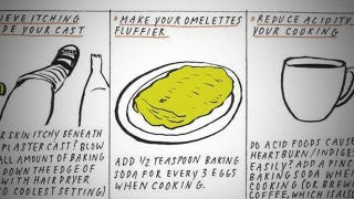 Illustration for article titled Make a Fluffier Omelet with a Pinch of Baking Soda