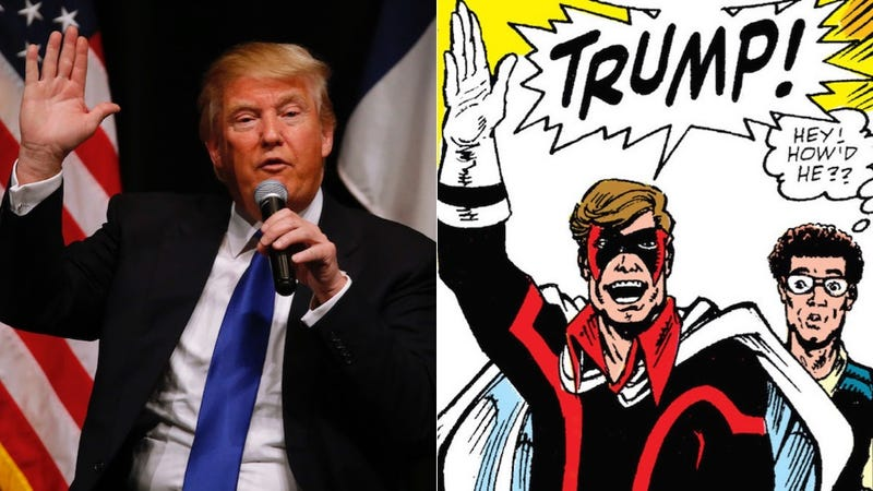 Illustration for article titled Meet Trump, One of Marvel Comics' Least Super Supervillains