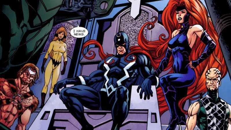 Illustration for article titled The first image of Marvel's Inhumans TV show doesn't inspire confidence