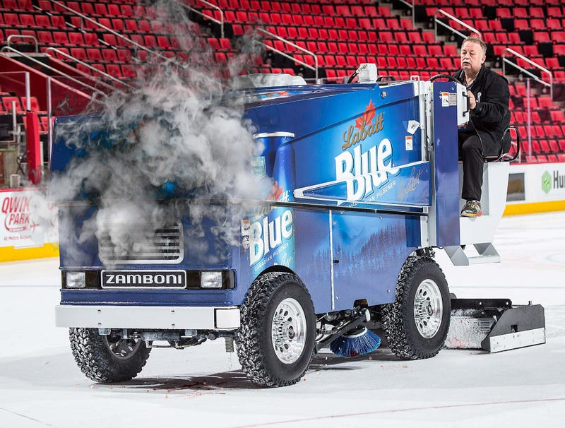 Illustration for article titled Zamboni Jams Up After Running Over Large Patch Of Loose Teeth