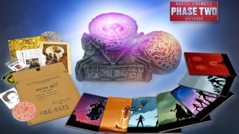 Illustration for article titled Here's everything you need to know about the Marvel Phase 2 box set