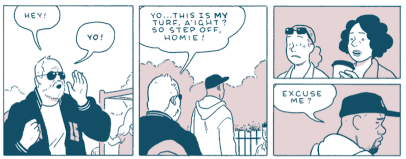 A Great Graphic Novel Filled With The Miserable Little Deaths That Happen Every Day
