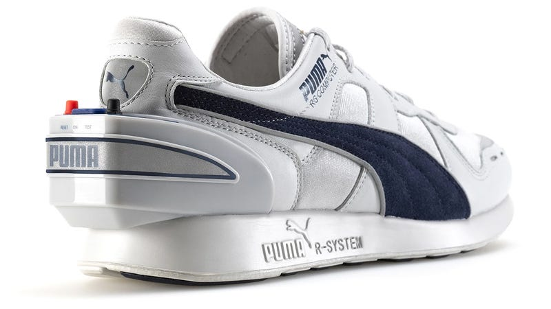 Illustration for article titled Puma Is Re-Releasing Its 32-Year-Old Smart Shoe That Was Lightyears Ahead of Its Time
