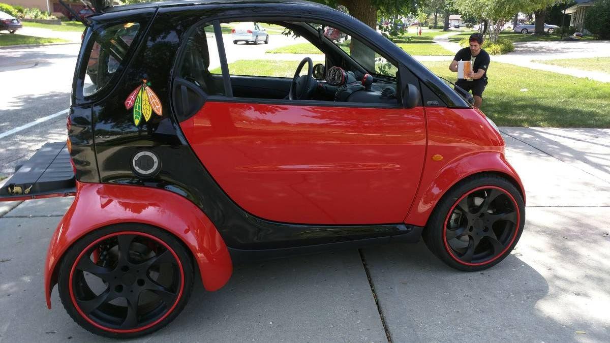 At $23,500, Could This Hayabusa-Powered 2002 Smart ForTwo Be For You?