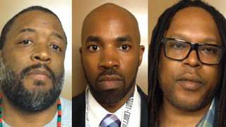 "Prison-reform activists Yusef ""Bunchy"" Shakur, Chris Wilson and Shaka SenghorScreenshot"