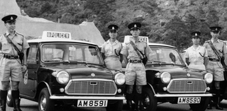 Illustration for article titled Hong Kong Police Cars, 1960s.