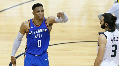 33d47d6ca747 Russell Westbrook Played Basketball And Stayed Alive