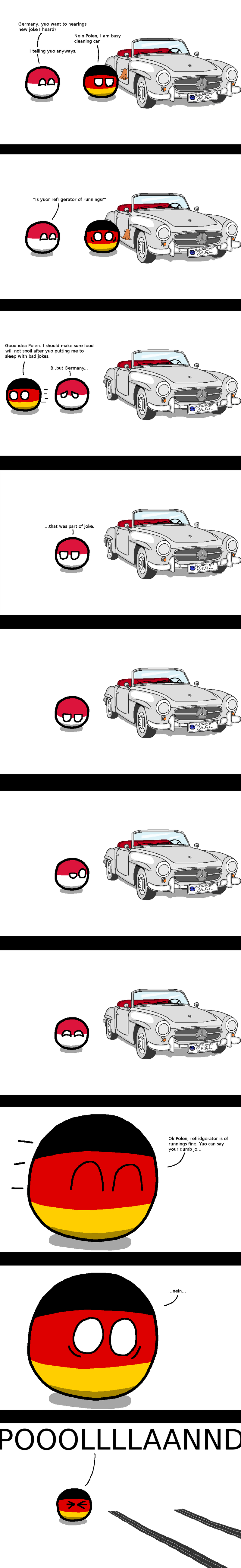 Illustration for article titled Daily Polandball: Grand Theft Auto Edition