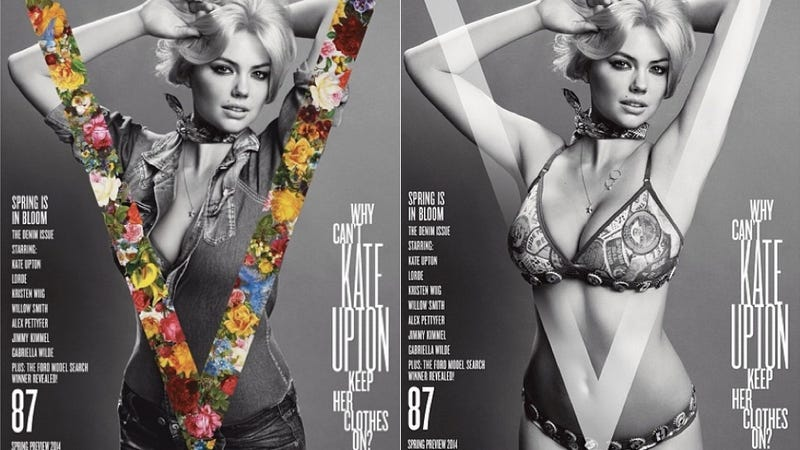 Illustration for article titled V Magazine Wonders Aloud Why Kate Upton is Always Naked
