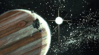 Illustration for article titled The real reason why the Pioneer spacecrafts appear to be slowing down