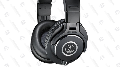 Audio Technica ATH-M40X Headphones | $79 | Amazon