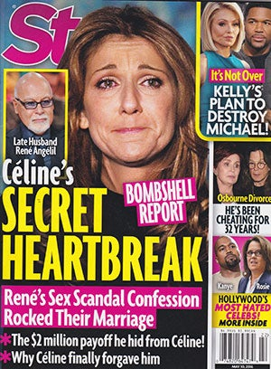 This Week In Tabloids: Celine Dion's Late Husband René