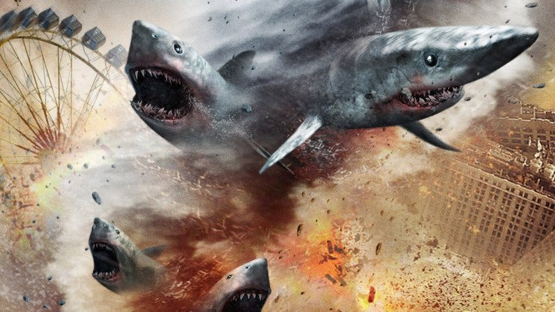 Illustration for article titled Sharknado 3 gets a release date and a silly title