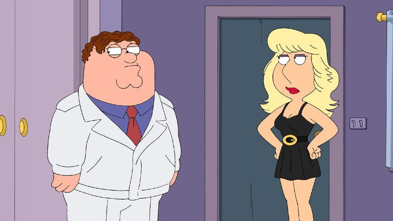 "Illustration for article titled Family Guy: ""Call Girl"""