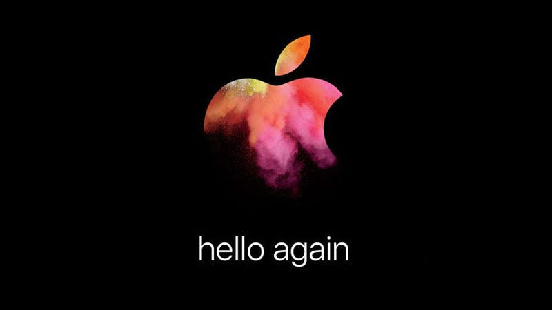 Illustration for article titled Apple's Big MacBook Event Is October 27