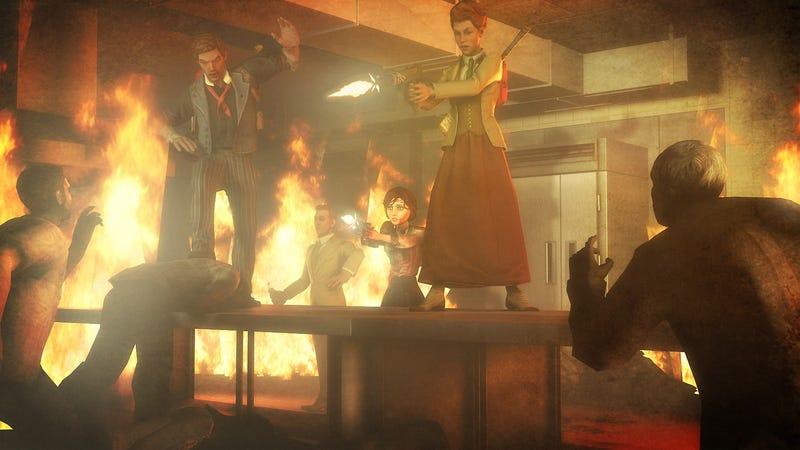 Left 4 Dead Featuring Bioshock Infinite Characters