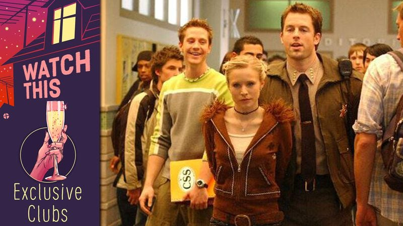 Illustration for article titled Veronica Mars portrayed the fundamental silliness of secret clubs