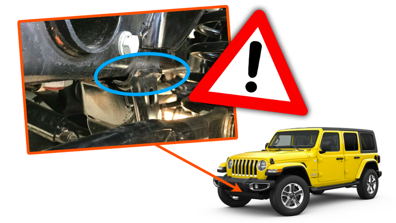 Illustration for article titled New Jeep Wrangler Frame Welds are Failing and Now FCA Is Issuing a Recall [Updated]