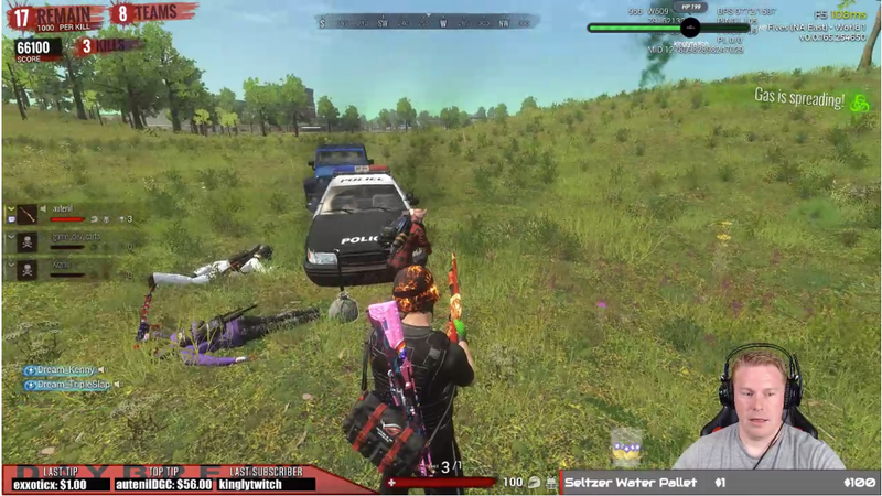 Illustration for article titled H1Z1 Dev Leaves Cheats On While Streaming In Apparent Accident