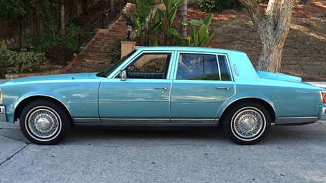 For $5,500, Does This 1988 Cadillac Cimarron Convertible ...