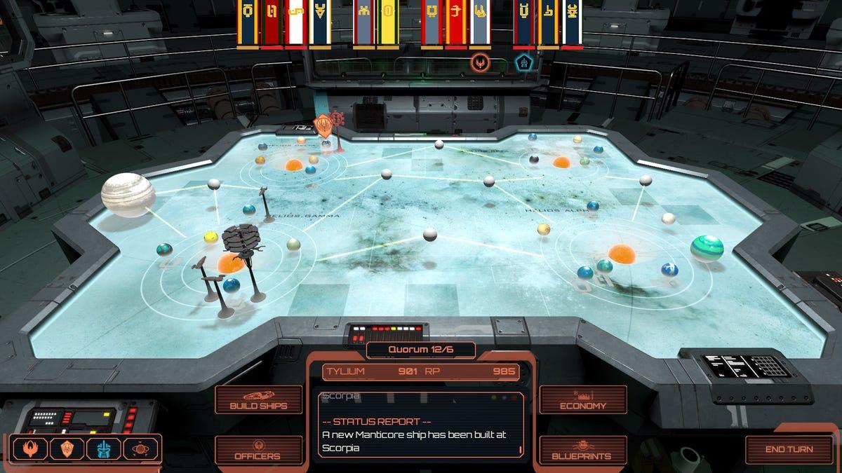 We Finally Got A Good Battlestar Galactica Game