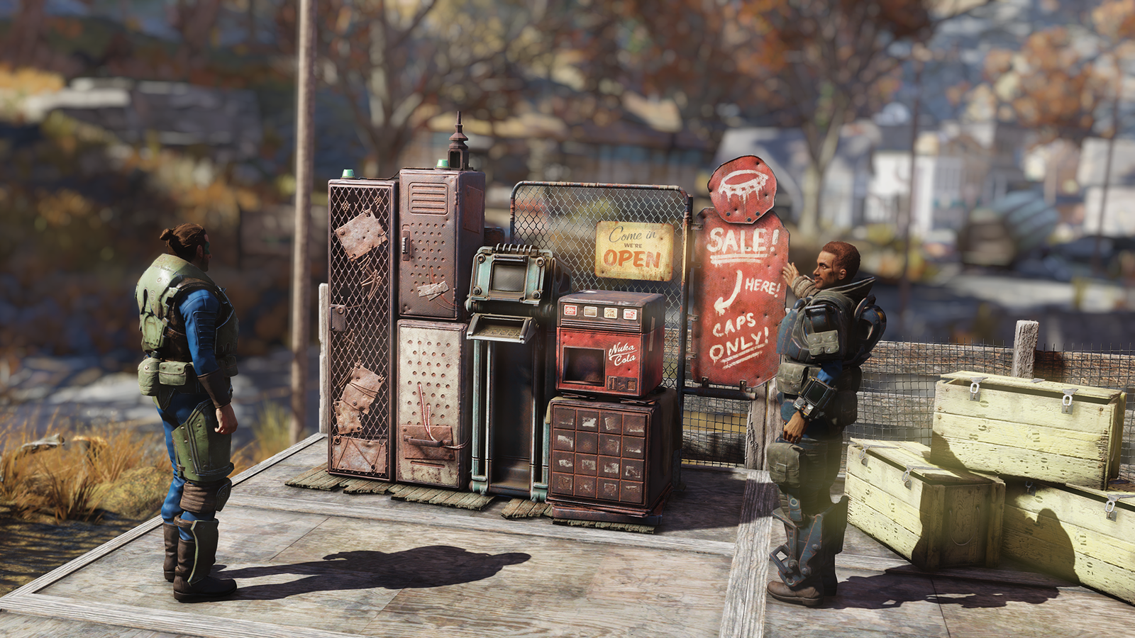 Latest Tech News: Fallout 76 Players Can Now Set Up Their Own Stores, But Bethesda Taxes Their Goods - Kotaku thumbnail