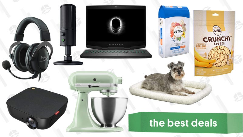 Illustration for article titled Tuesday's Best Deals: Gaming Gold Box, Anker Projector, Puppy Essentials, and More