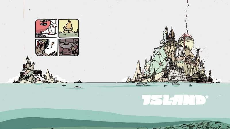 Illustration for article titled Here's an exclusive look at the first Island comics anthology