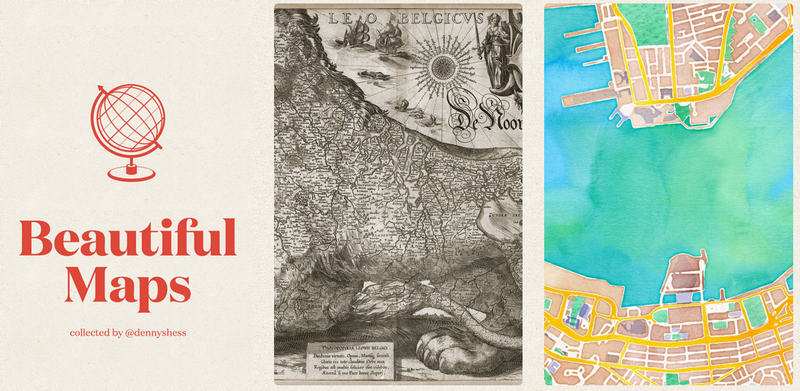 Illustration for article titled Beautiful Maps Will Change How You Look At The World
