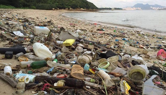 Hong Kong s Beaches Are Suddenly Covered in Trash and No One Knows Why