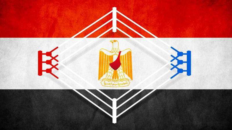 Illustration for article titled Democracy In The Raw: The WWE Comes To Post-Revolutionary Egypt