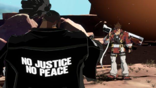 Guilty Gear Strive's Vampire Samurai Says Black Lives Matter