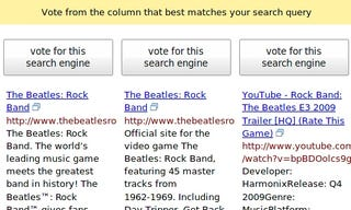 Illustration for article titled Blind Search Reveals Which Engine You Really Prefer