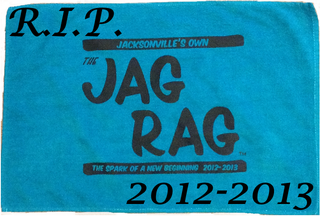 Illustration for article titled The Jag Rag, Jacksonville's Fan Towel, Will No Longer Be Sold
