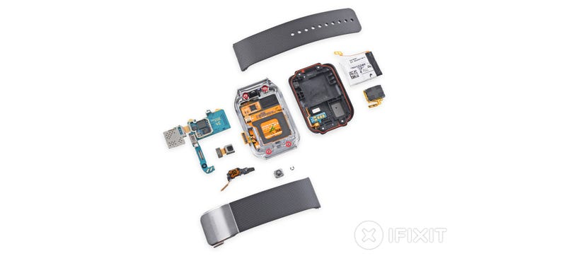 Illustration for article titled Samsung Gear 2 Teardown: Surprisingly Repairable For a Smartwatch
