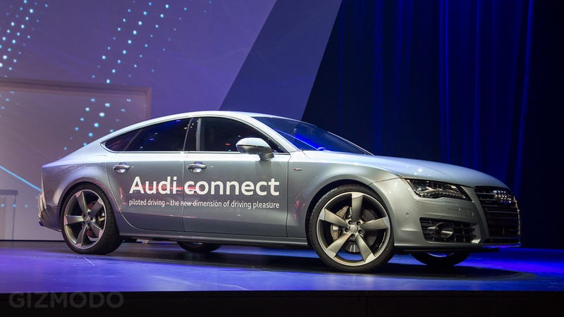 Illustration for article titled Audi Shows Off the Brains of Its Future Self-Driving Cars