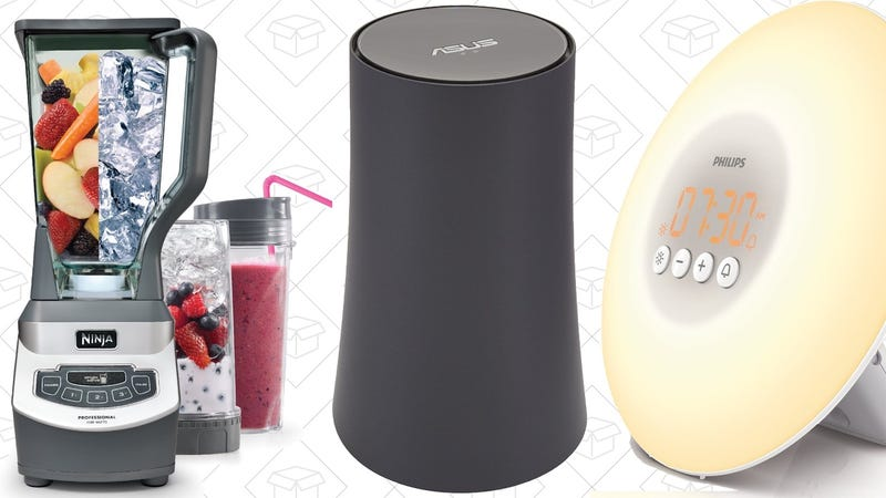 Illustration for article titled Today's Best Deals: Networking Gear, Flash Storage, Wake-Up Light, and More
